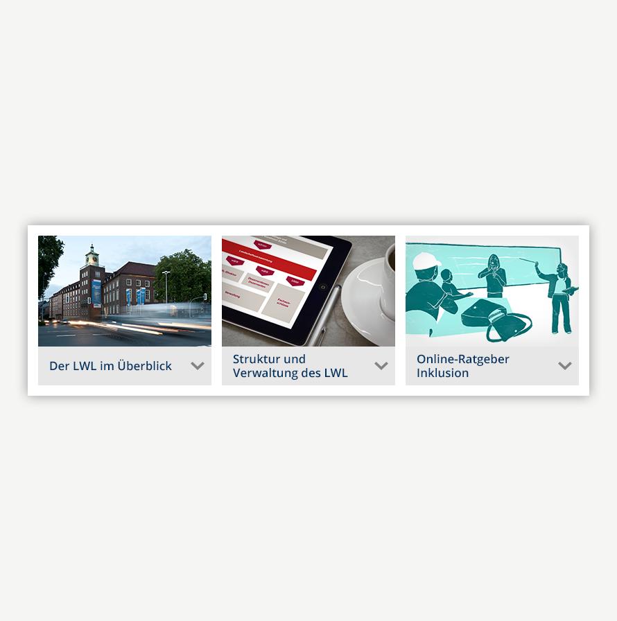 LWL | Portalseiten der LWL-Fachabteilungen - Corporate Design