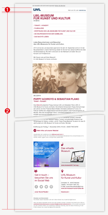 Abb. 1: HTML-Newsletter Beispiel-Layout